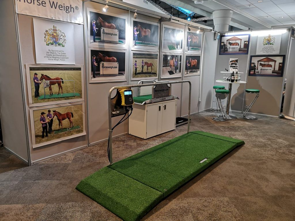 BEVA stand 2018 Horse Weigh