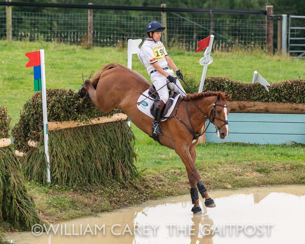 Gatcombe Festivial Eventing Harry