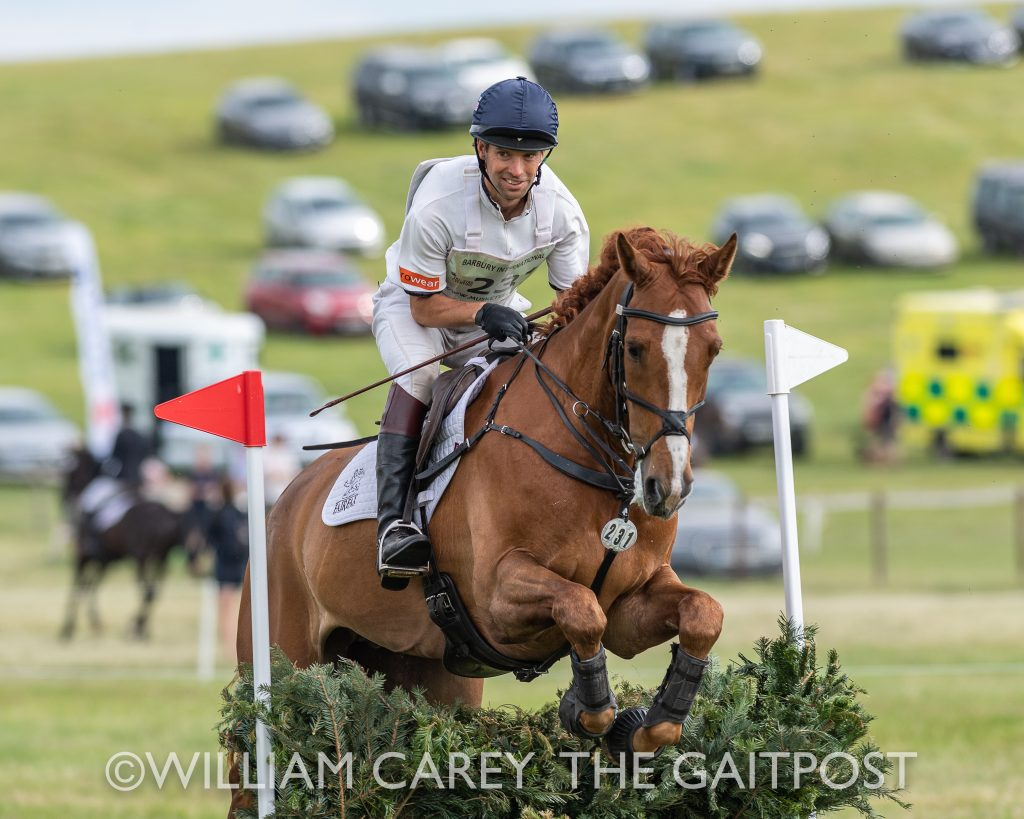 Harry Meade Eventing Horse Weigh