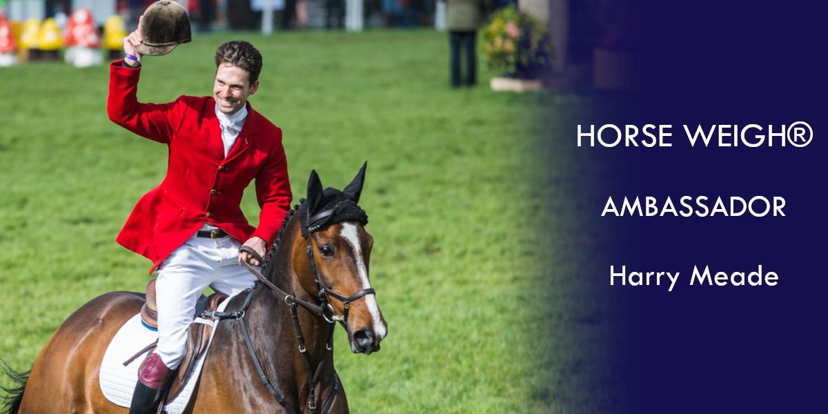 Harry Meade Horse Weigh Ambassador